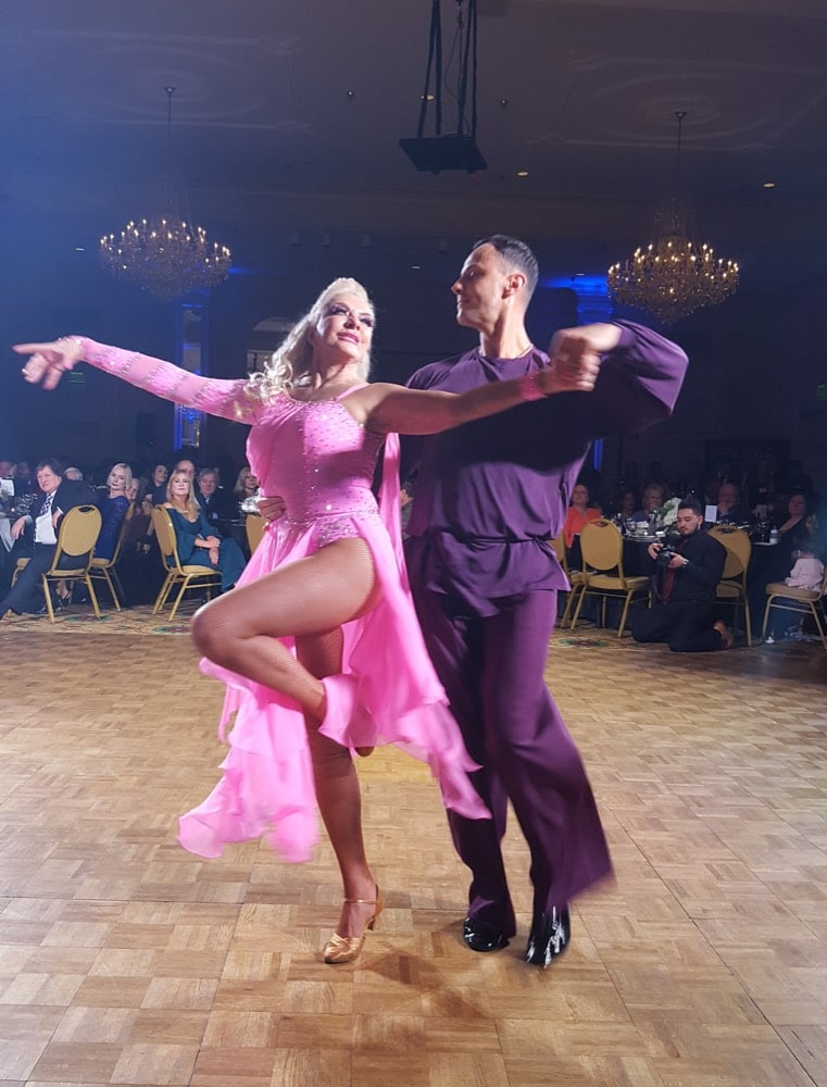 Carolyn Woodruff performs at Dancing with the Carolina Stars 2018