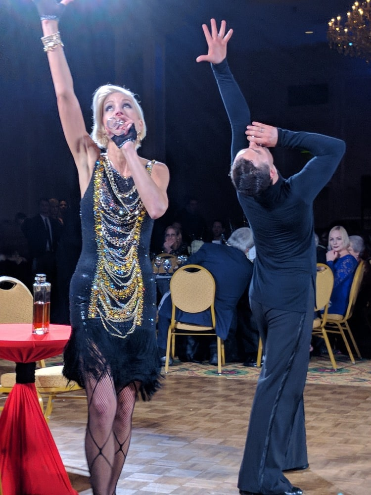 Performers at Dancing with the Carolina Stars 2018
