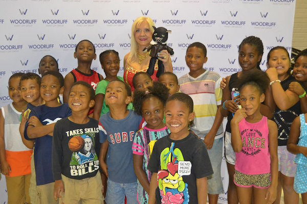 Kids with Carolyn Woodruff